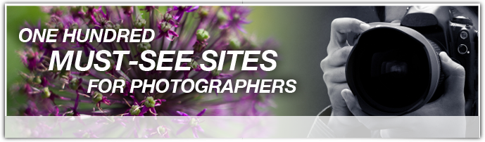 100 Must see sites for photographers